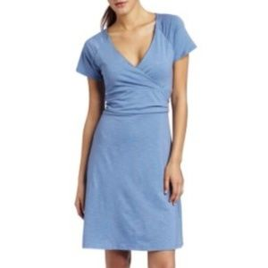 Horny Toad Heathered Organic Cotton Blend Dress S